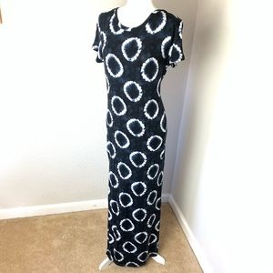 Michael Kors Tie Dye Long T-shirt Dress Women's M